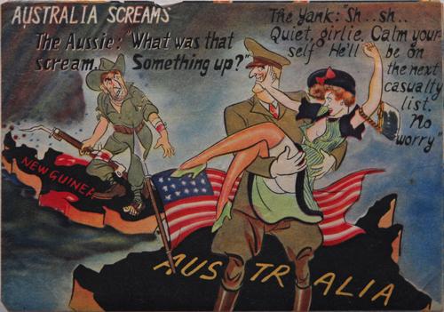 DE21 - Australia screams