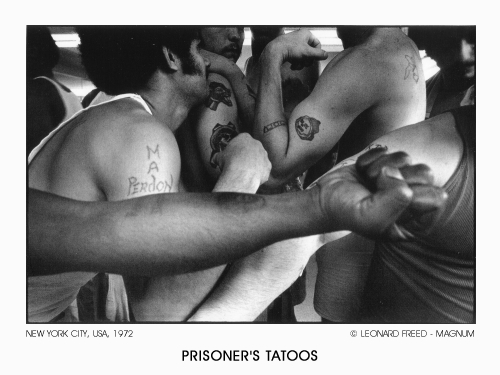 Prisoner's Tatoos