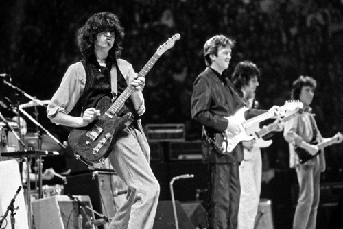Page, Clapton, Beck and Wyman